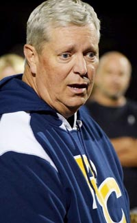 Jim Kunau of Temecula Rancho Christian previously coached Orange Lutheran to a CIF state title in 2009. Photo: ranchochristian.org.
